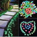 камені світяться для саду