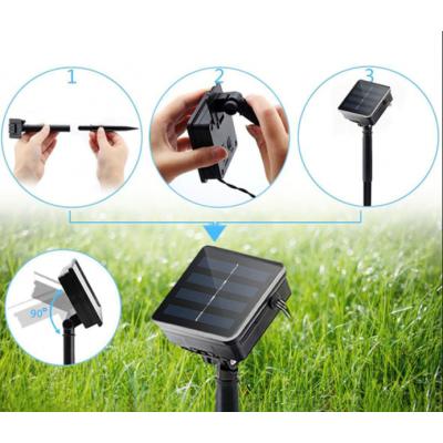 Выбираем светотехнику для сада: гирлянды на солнечных батареях.