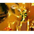 Гірлянда світлодіодна різдво 2.5м., 220w, теплий білий